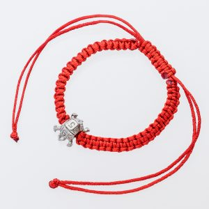 Red Turtle Thread Bracelet
