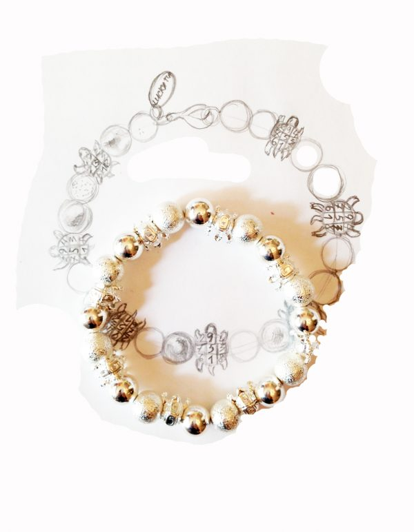 Snow Lucky Balls Bracelet