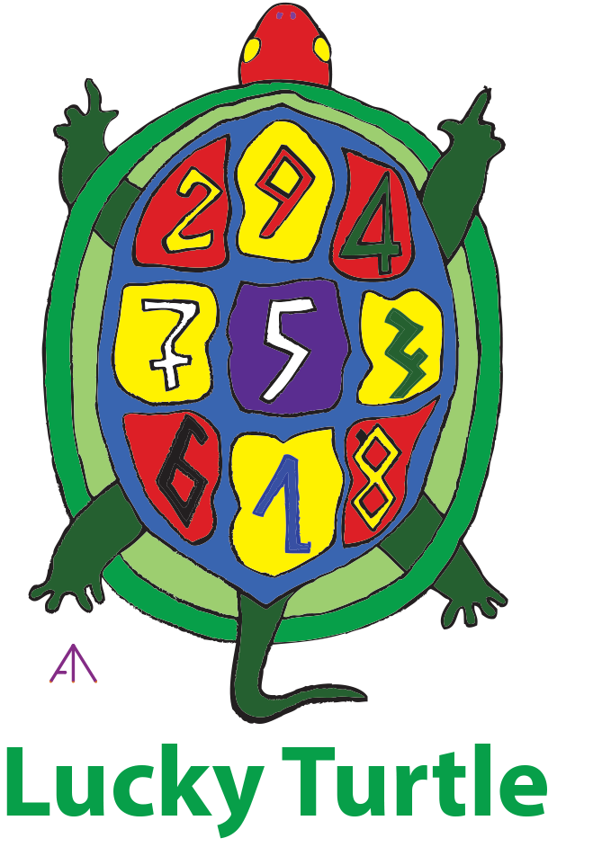 Lucky turtle brand logo